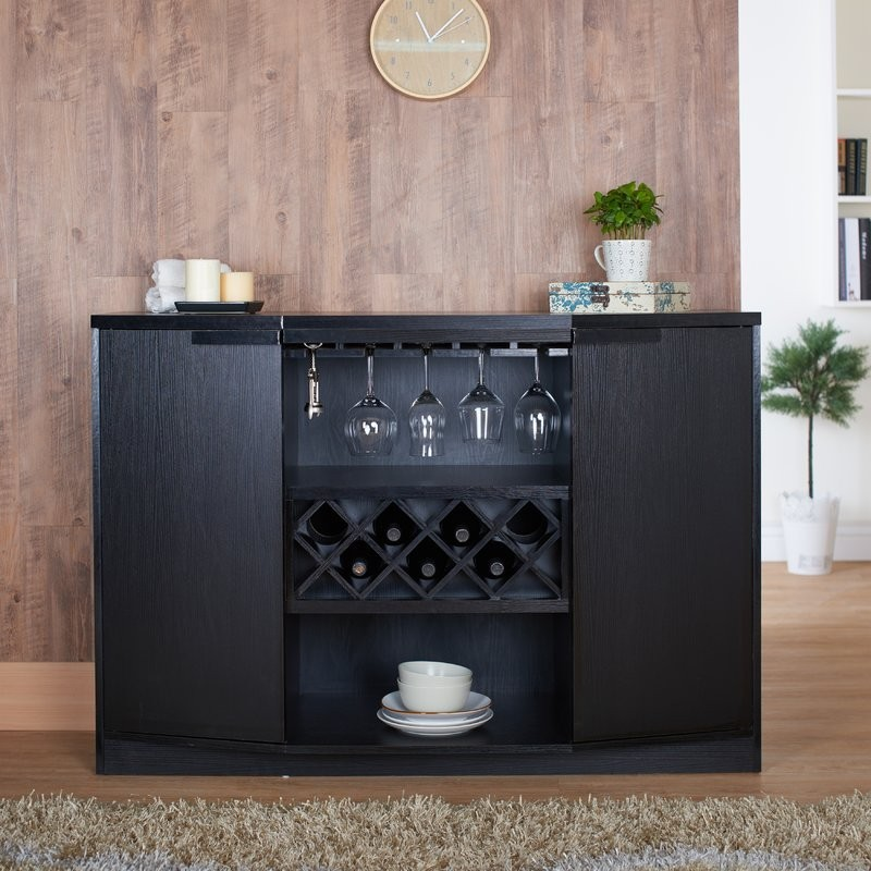 bar cabinets bar cabinets 10 Bar Cabinets For Your Weekend Party 5 ness bar cabinet joss and main