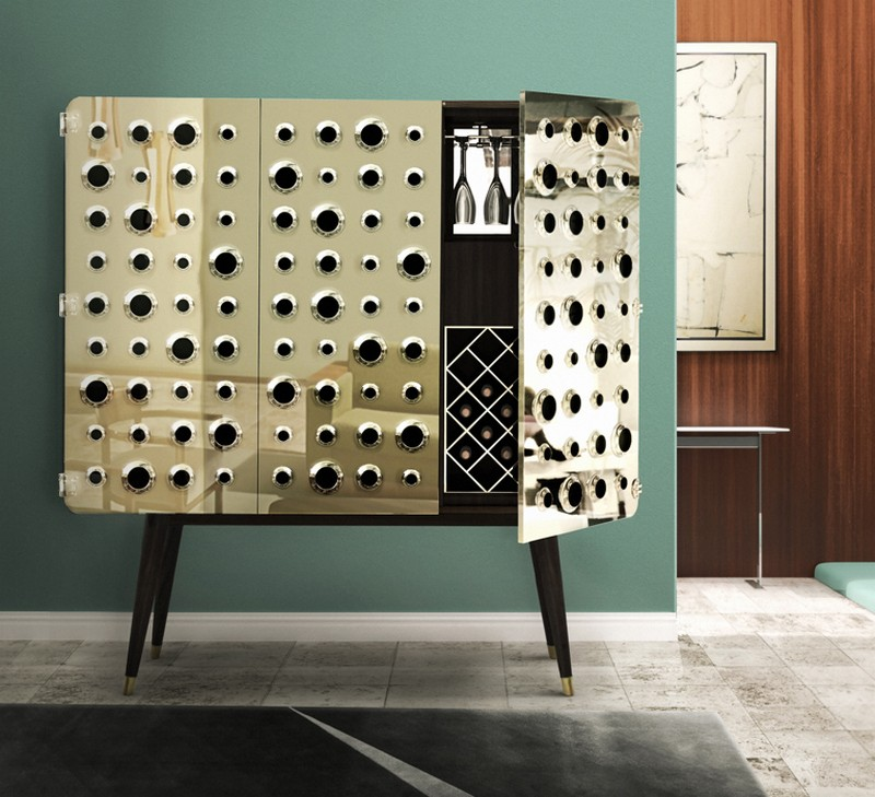 bar cabinets 10 Bar Cabinets For Your Weekend Party 9 Monocles Cabinet by Delightfull 3