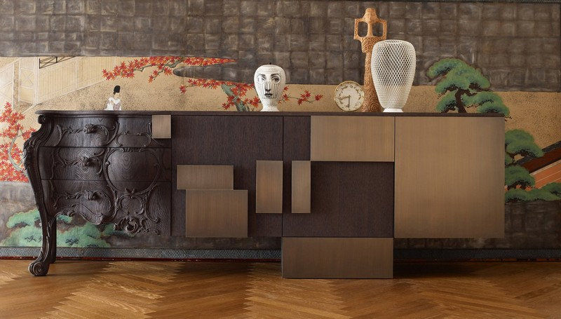 Ferruccio Laviani ferruccio laviani The Evolution Sideboard by Ferruccio Laviani EM hr AMB Evolution 30127
