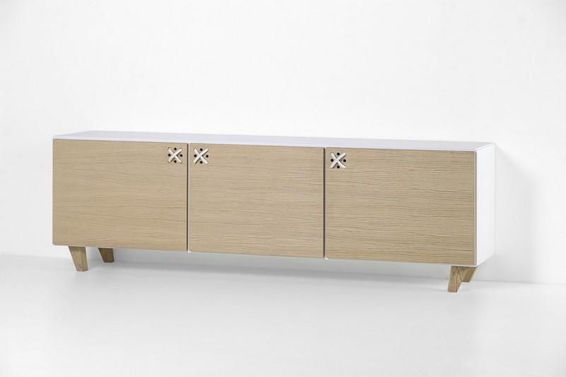 Furniture Collection The Playful Cabinets of Nodo Furniture Collection by Andrea Brugnera NODO BUFFET STILL ANDREA BRUGNERA DESIGNER FORMABILIO