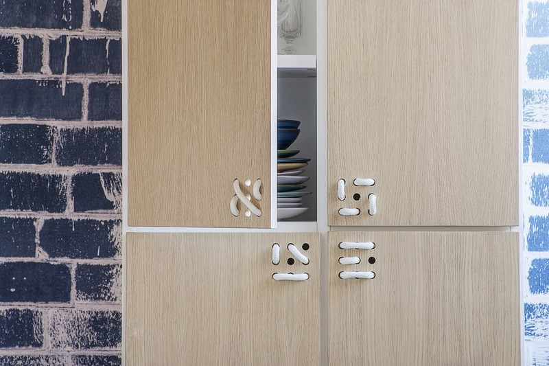 Furniture Collection The Playful Cabinets of Nodo Furniture Collection by Andrea Brugnera NODO CABINET DET ANDREA BRUGNERA DESIGNER FORMABILIO
