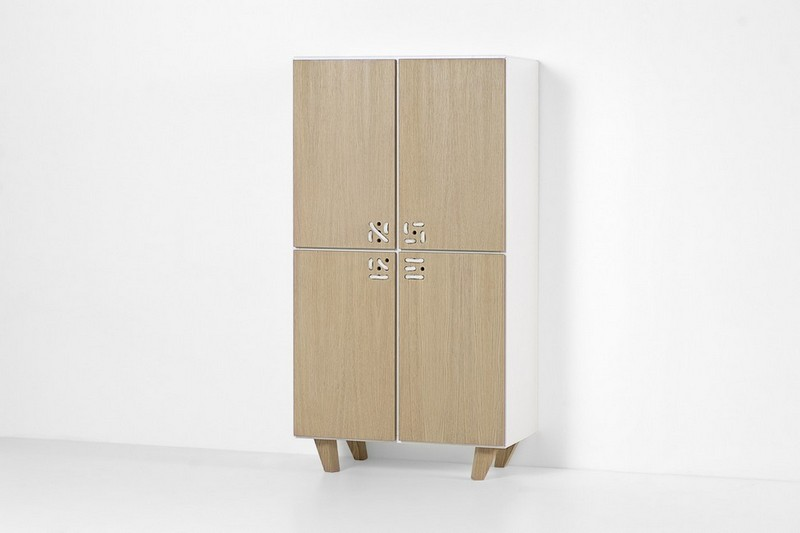 Furniture Collection The Playful Cabinets of Nodo Furniture Collection by Andrea Brugnera NODO CABINET STILL ANDREA BRUGNERA DESIGNER FORMABILIO