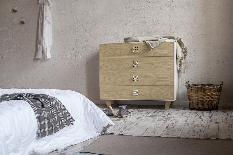 Furniture Collection The Playful Cabinets of Nodo Furniture Collection by Andrea Brugnera NODO CHEST OF DRAWERS AMB ANDREA BRUGNERA DESIGNER FORMABILIO