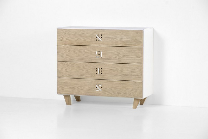 Furniture Collection The Playful Cabinets of Nodo Furniture Collection by Andrea Brugnera NODO CHEST OF DRAWERS STILL ANDREA BRUGNERA DESIGNER FORMABILIO