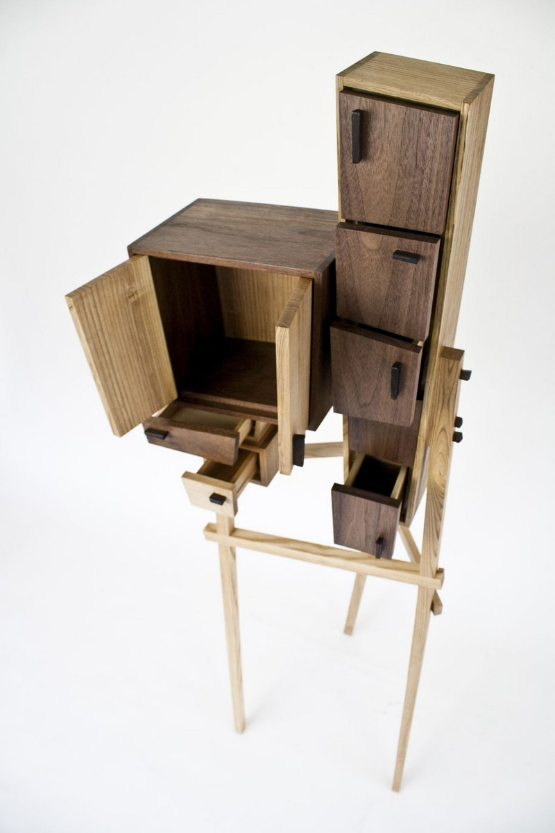 best furniture best furniture Best Furniture Designs: The Unorganized Cabinet by Colin Tury Unorganized Wooden Cabinet 02