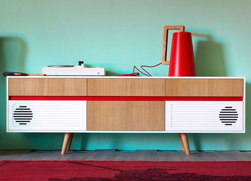 mid-century style Mid-Century style 10 Best Mid-Century Style Sideboards for a Stunning Decor 1 miniforms sideboard