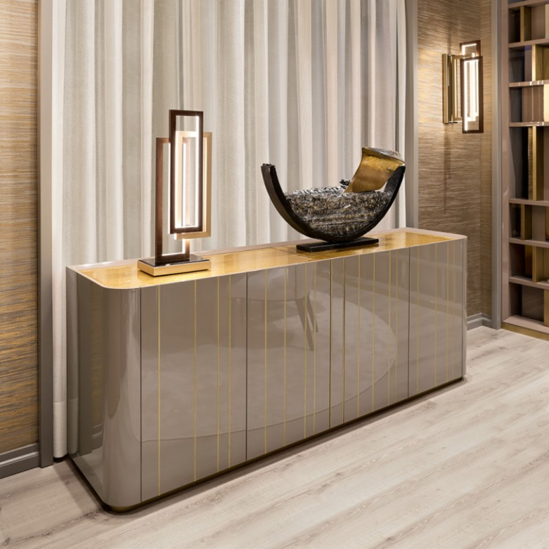 contemporary sideboards Discover the Best Contemporary Sideboards for this Summer 10 Must Have Silver Buffets and Cabinets 13