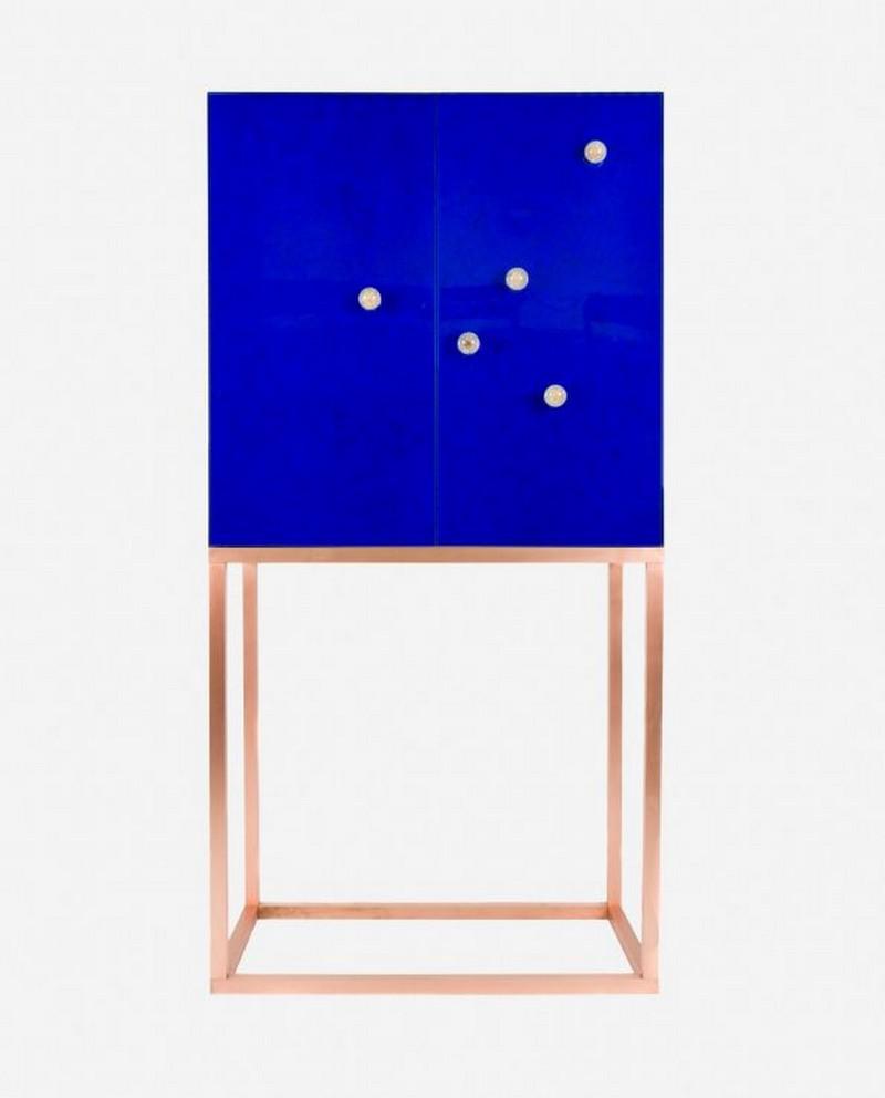 icff The Best Cabinet Exhibitors on ICFF New York 2 Blue Dandelion cabinet Moka design