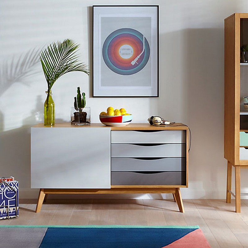 mid-century style Mid-Century style 10 Best Mid-Century Style Sideboards for a Stunning Decor 3 House John Lewis Casper