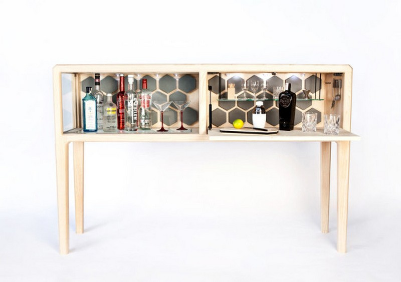 unique designs Unique Designs Unique Designs:The Liquor Cabinet by Ian Rouse 3 Linnk Kabinet irfd Ian Rouse 3