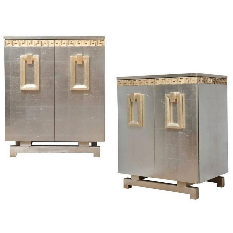 cabinet designs Cabinet Designs 10 Amazing Silver Cabinet Designs for a Luxury Decor 5 Art deco style silver cabinets
