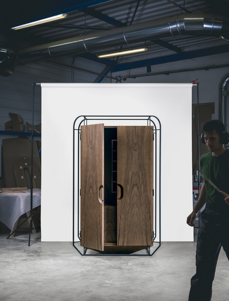 Unique Designs Unique Designs: The Exo Cabinet by Gregoire de La Forrest 5 Exo Cabinet Gregoire de Lafforest furniture design 3