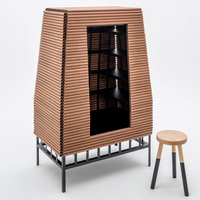 "storage cabinets Storage Cabinets The ""Otherworldly"" Storage Cabinets by Um Project 5 ultraframe um project nycxdesign 2017 dezeen 2364 col 10"