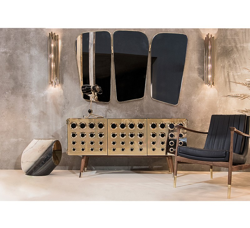 mid-century style Mid-Century style 10 Best Mid-Century Style Sideboards for a Stunning Decor 6 monocles sideboard essential home
