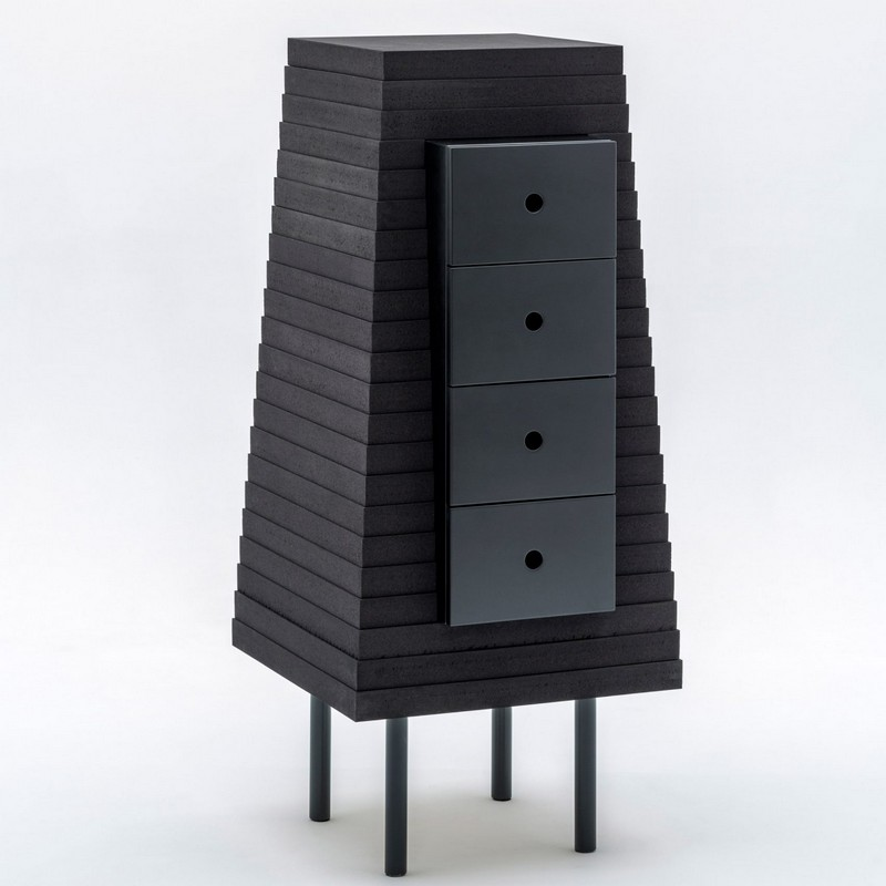 "storage cabinets Storage Cabinets The ""Otherworldly"" Storage Cabinets by Um Project 6 ultraframe um project nycxdesign 2017 dezeen 2364 col 24"