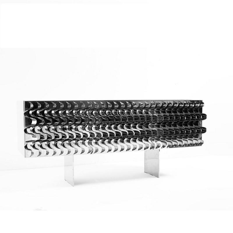 Cabinet Designs 10 Amazing Silver Cabinet Designs for a Luxury Decor 6 waves mauricio galante