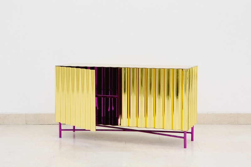 http://www.bocadolobo.com/en/inspiration-and-ideas/100-limited-edition-furniture-ideas/?utm_source=cbaptista&utm_medium=blog_BuffetsandCabinets&utm_campaign=blog_img Unique Designs Unique Designs: Gold-chrome Cabinet and Console by Lanzavecchia + Wai 7 Steel Furniture