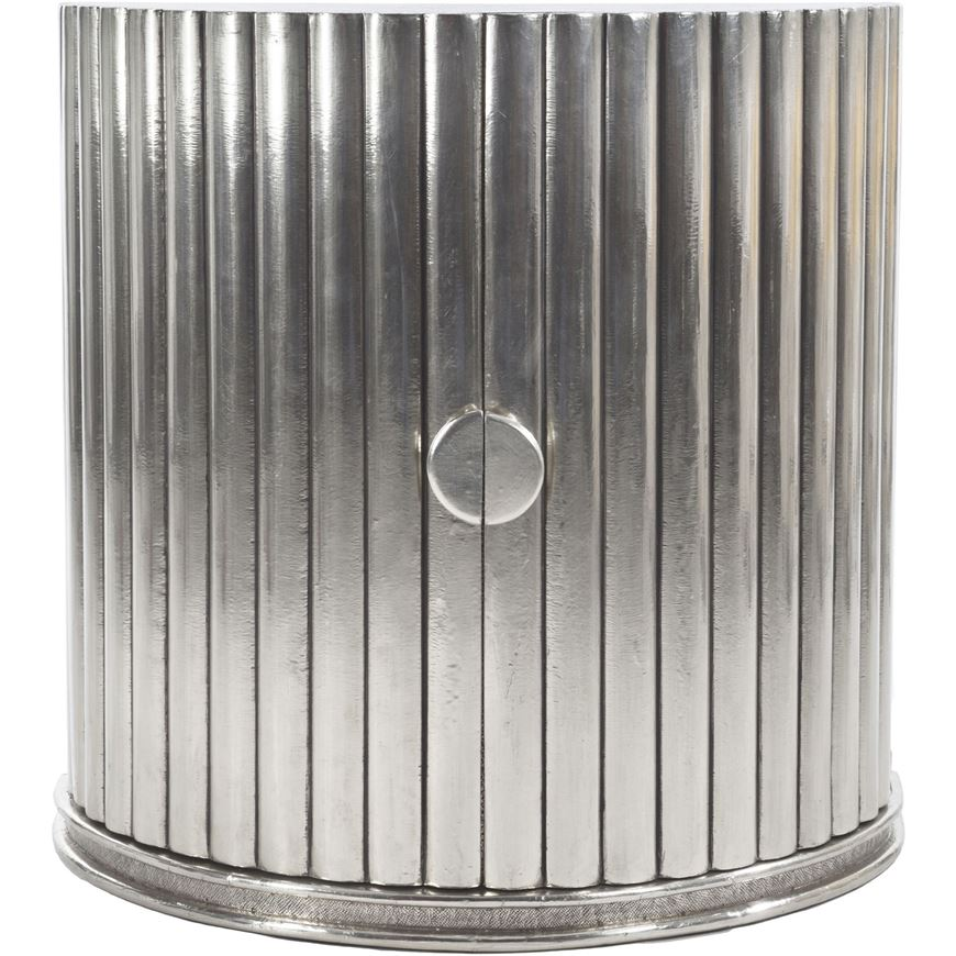Cabinet Designs 10 Amazing Silver Cabinet Designs for a Luxury Decor 7 scallop sideboard