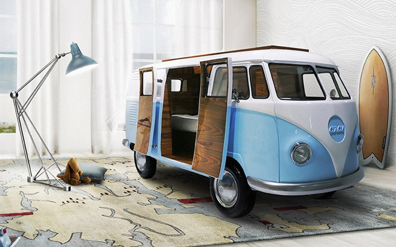 Toddler Bedroom Furniture For Kids: Amazing Cabinets For Your Toddler Bedroom 8 bun van circu magical furniture