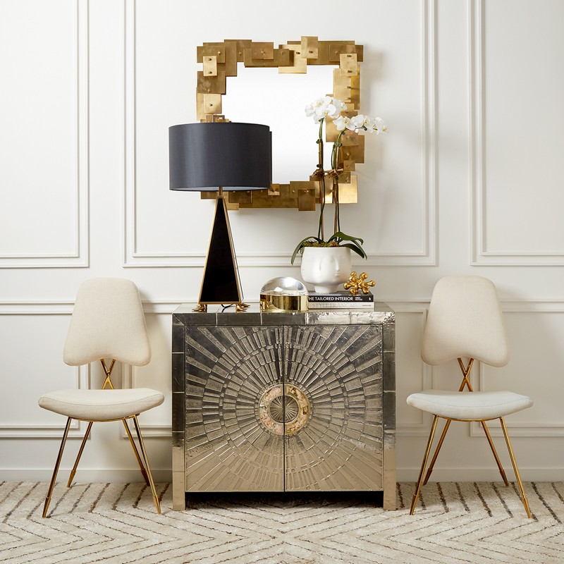 Cabinet Designs 10 Amazing Silver Cabinet Designs for a Luxury Decor 8 talitha console  jonathan adler