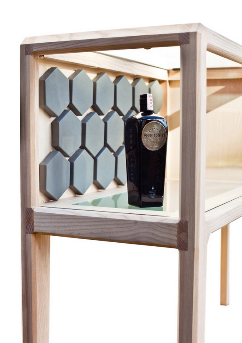 Unique Designs Unique Designs:The Liquor Cabinet by Ian Rouse 9 Linnk Kabinet irfd Ian Rouse 9