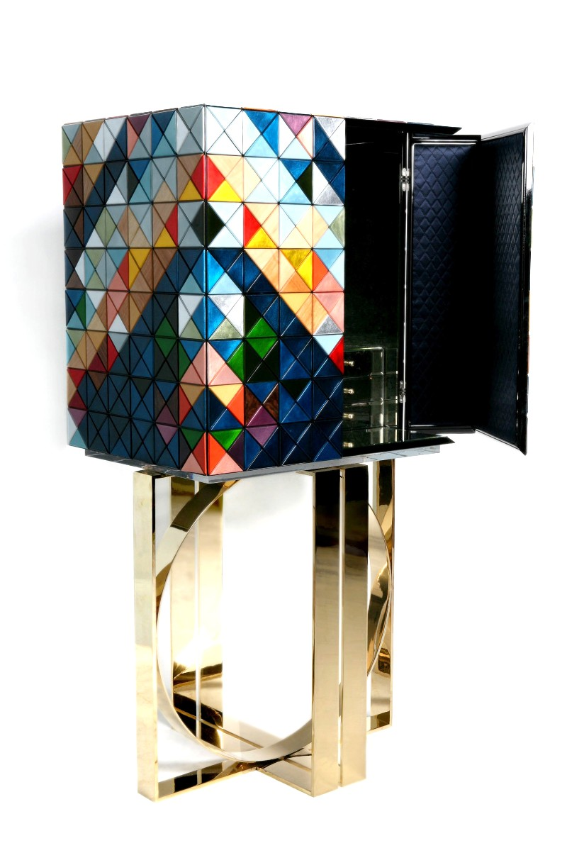 cabinet Luxury Furniture: Discover the Striking Pixel Cabinets Discover the Striking Pixel Cabinets 3