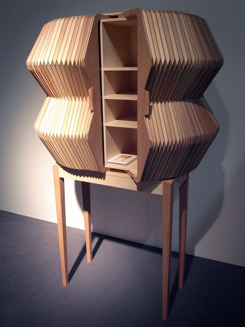cabinet design Cabinet Design The Accordion Cabinet Design by Elisa Strozyk + Sebastian Neeb accordion06
