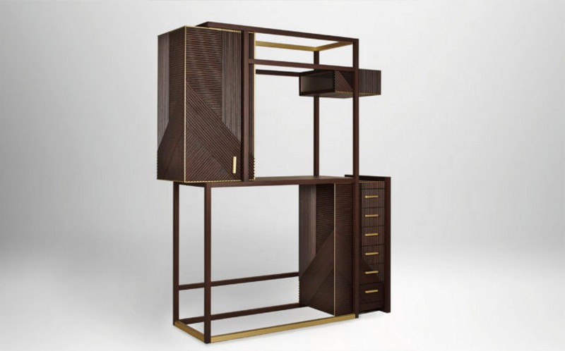 Rossato rossato The Amazing Hampton Cabinet Design by Rossato 03 There are different finishes and materials unpon request