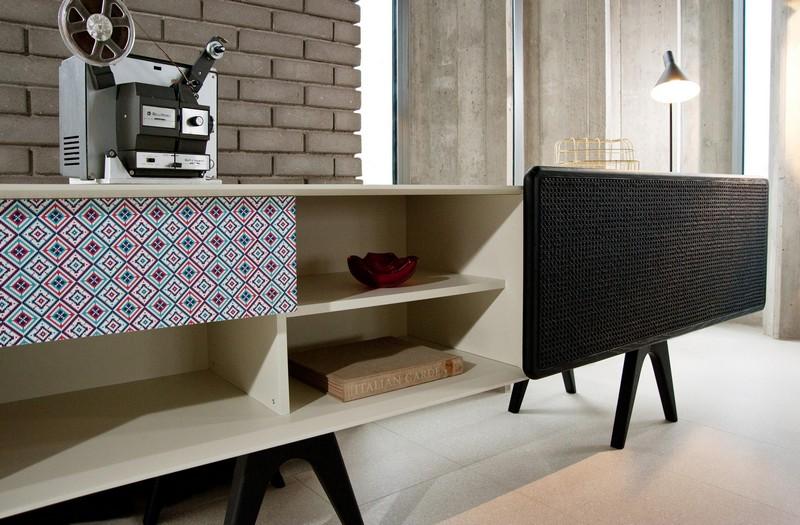 tv cabinet Best Furniture: Colorful Tv Cabinet by Sotiris Lazou 04 bo em 003 a detail 8 b