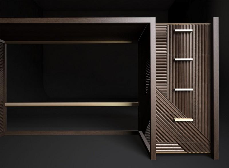 rossato The Amazing Hampton Cabinet Design by Rossato 08 hamptondesk 2