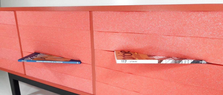 Discover Enigma Design Cabinet Made of Foam
