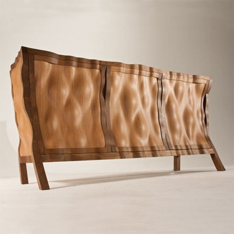sideboard designs Best Furniture: Original and Creative Sideboard Designs 7original and creative sideboard designs unique abstract shaped wooden sideboard