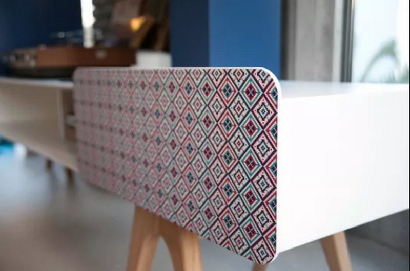 tv cabinet  tv cabinet Best Furniture: Colorful Tv Cabinet by Sotiris Lazou Bo em sideboard detail