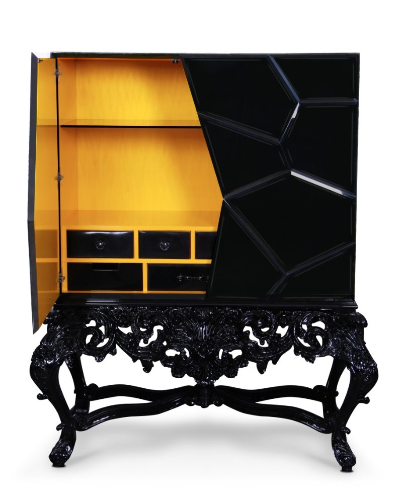 Outstanding Bar Cabinets for Your Best Wines