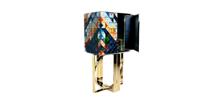 modern cabinets Discover Boca do Lobo's Modern Cabinets for this Summer love excellence boca do lobo pixel cabinet 2