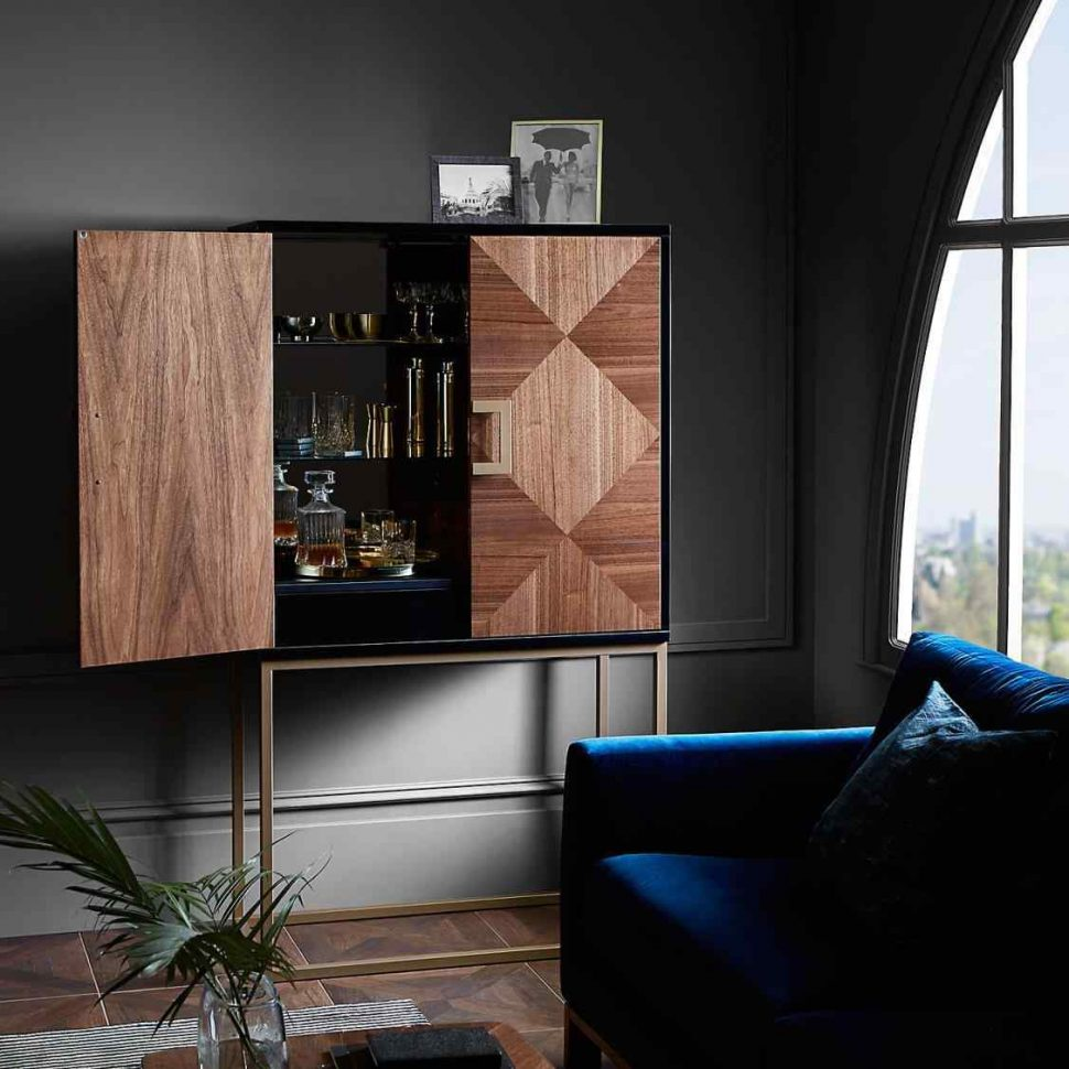 luxury living room Statement Pieces for a Luxury Living Room raise drinks cabinet designs a glass to the best s luxury introducing stunning new home design