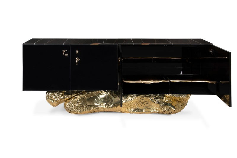 The Most Exclusive and Glossiest Looking Sideboards You'll See sideboards The Most Exclusive and Glossiest Looking Sideboards You'll See Angra Sideboard Boca do Lobo 2