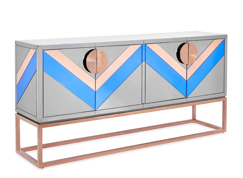 credenza Discover the most Colorful Credenzas by Jonathan Adler Buffets and Cabinets Discover the Most Colorful Designs by Jonathan Adler 1