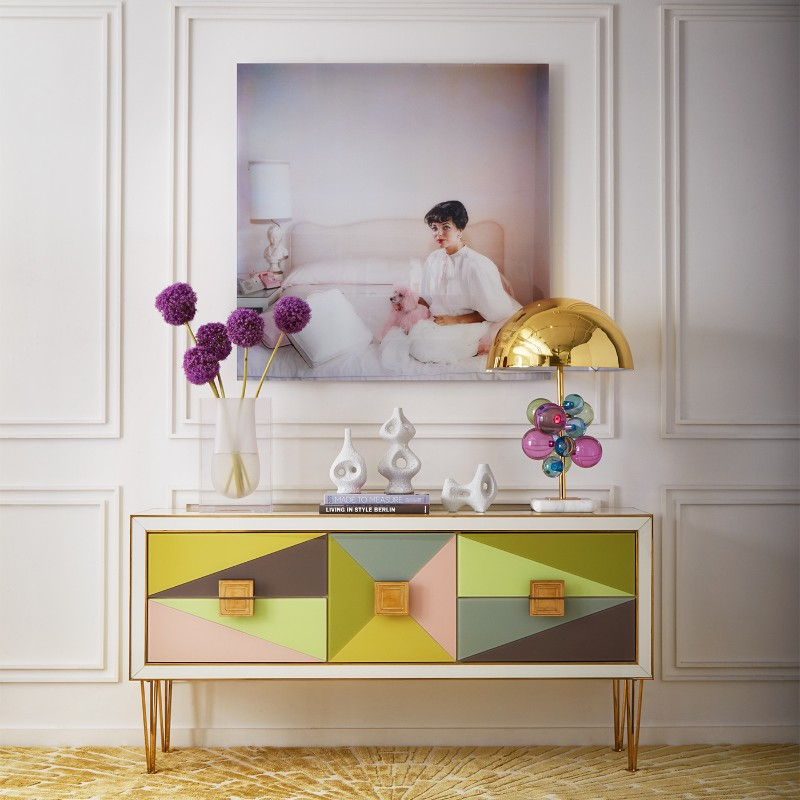 credenza Discover the most Colorful Credenzas by Jonathan Adler Buffets and Cabinets Discover the Most Colorful Designs by Jonathan Adler 4