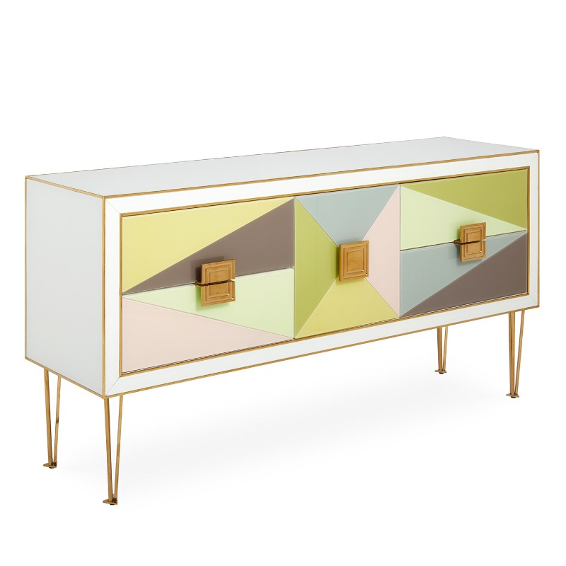 credenza Discover the most Colorful Credenzas by Jonathan Adler Buffets and Cabinets Discover the Most Colorful Designs by Jonathan Adler 5