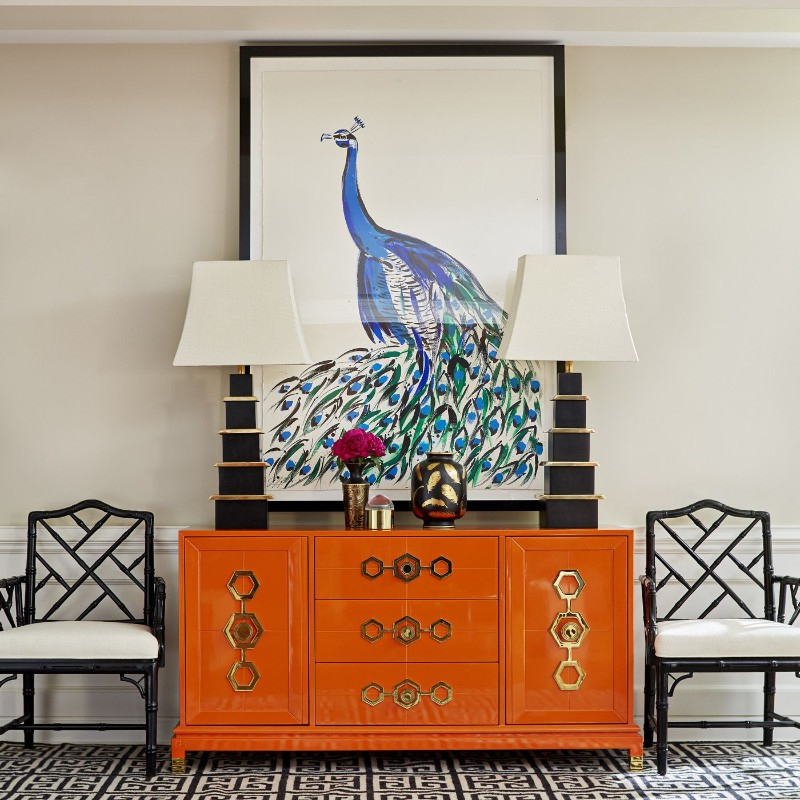 credenza Discover the most Colorful Credenzas by Jonathan Adler Buffets and Cabinets Discover the Most Colorful Designs by Jonathan Adler 8