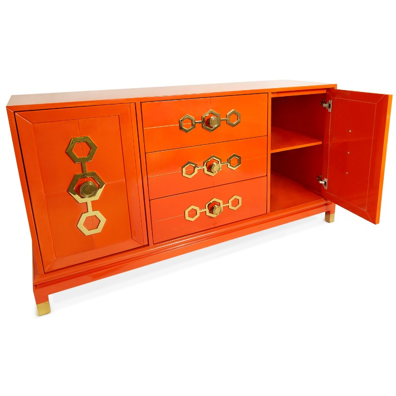 credenza Discover the most Colorful Credenzas by Jonathan Adler Buffets and Cabinets Discover the Most Colorful Designs by Jonathan Adler 9