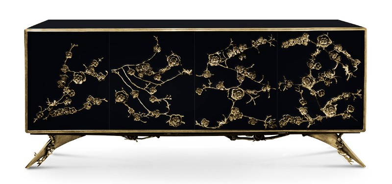 buffets and cabinets, exclusive design, buffets and sideboards, cabinet design, sideboards, sideboard design, black and gold, luxury, gold and black, home décor home décor The Best Black and Gold Sideboards for Your Home Décor Buffets and Cabinets The Best Black and Gold Sideboards for Your Home D  cor