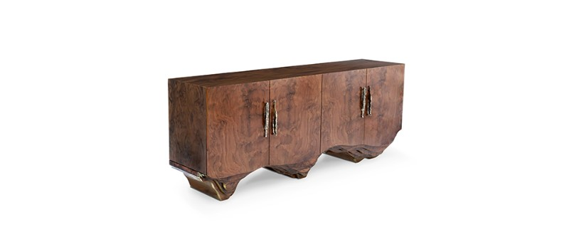 statement piece Sideboards As Statement Pieces To Transform A Room Huang Sideboard 11