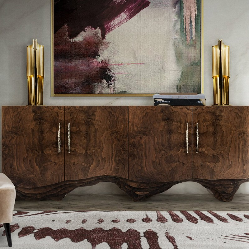 statement piece Sideboards As Statement Pieces To Transform A Room Huang Sideboard1