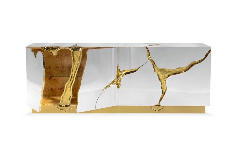 sideboards The Most Exclusive and Glossiest Looking Sideboards You'll See Lapiaz Sideboard by Boca do Lobo