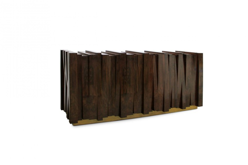 wooden sideboard The Best Wooden Sideboards for a Rustic Yet Modern Look Nazca Sideboard