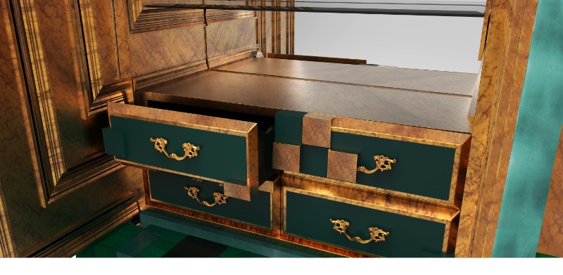 limited edition, Piccadilly, cabinets, cabinet design, boca do lobo, luxury designer furniture, luxury furniture, high end furniture, décor, exclusive designs cabinet Magnificent Piccadilly Cabinet for a Colorful Touch in Your Room Picadilly Cabinet Electric Green by Boca do Lobo 04