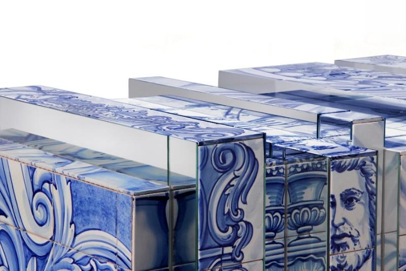 Arts & Crafts Behind Boca do Lobo's Exclusive Furniture: Azulejo exclusive furniture Arts & Crafts Behind Boca do Lobo's Exclusive Furniture: Azulejo heritage sideboard 06