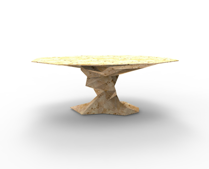 decorex Boca do Lobo and Rug'Society Join Forces at Decorex 2018 Bonsai Dining Table Poplar Root Boca do Lobo